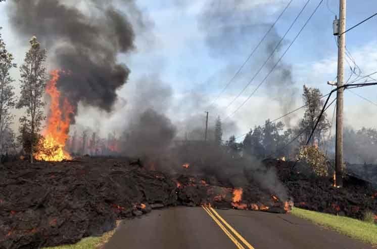 Извержение вулкана Килауэа на Гавайях может усилиться