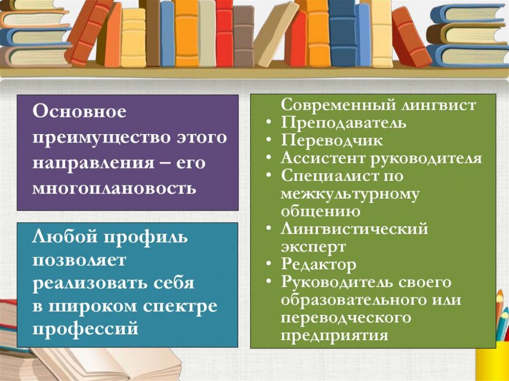 Бакалавриат направления Лингвистика - online presentation