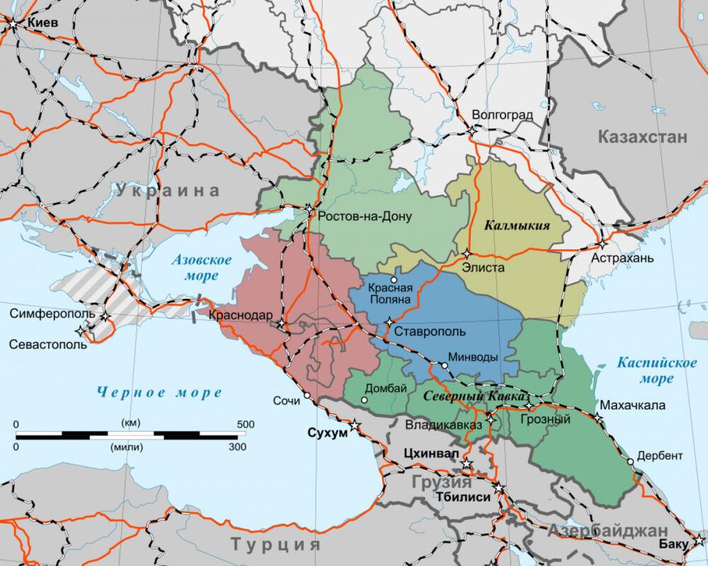 Северный Кавказ — Википедия