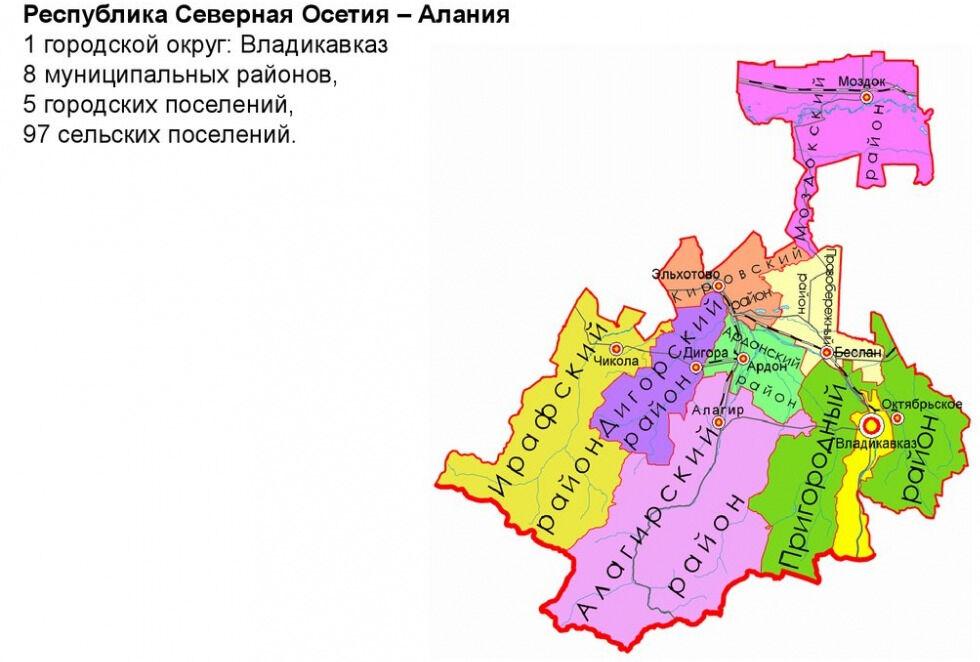 Экономико-географическое положение Северного Кавказа, общие сведения ...