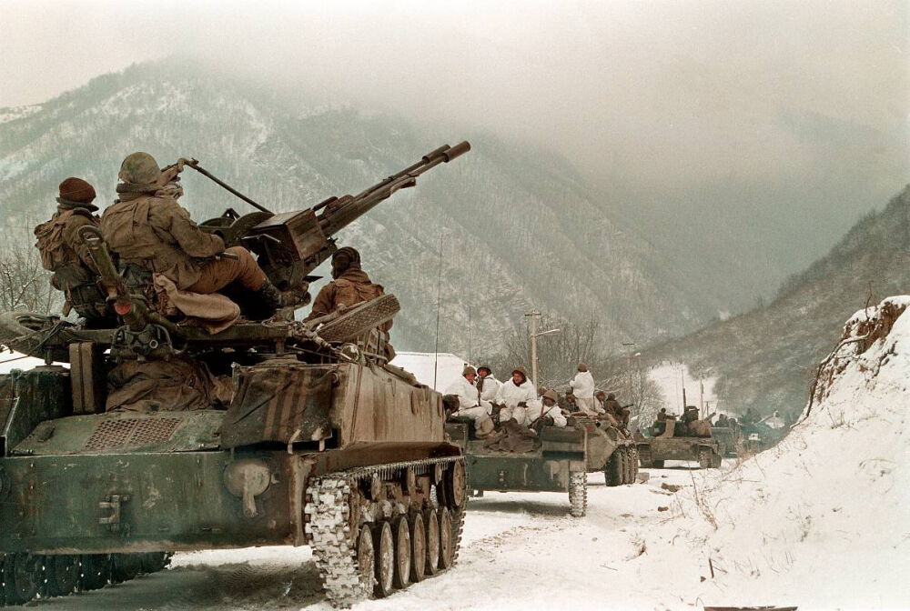 Первая чеченская война | lemur59.ru