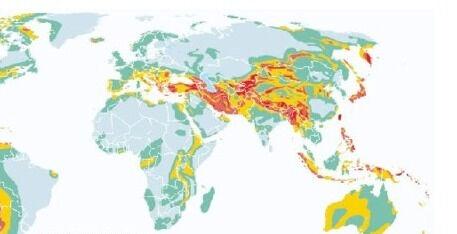 Как обозначить на контурной карте сейсмические пояса тихоокеанский 6 ...