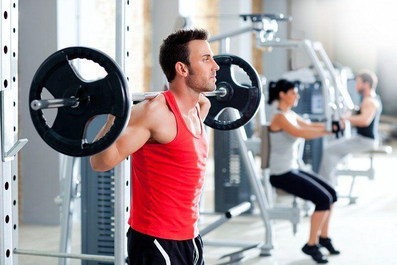 Фитнес программа для мужчин в тренажерном зале, фитнес программы для
