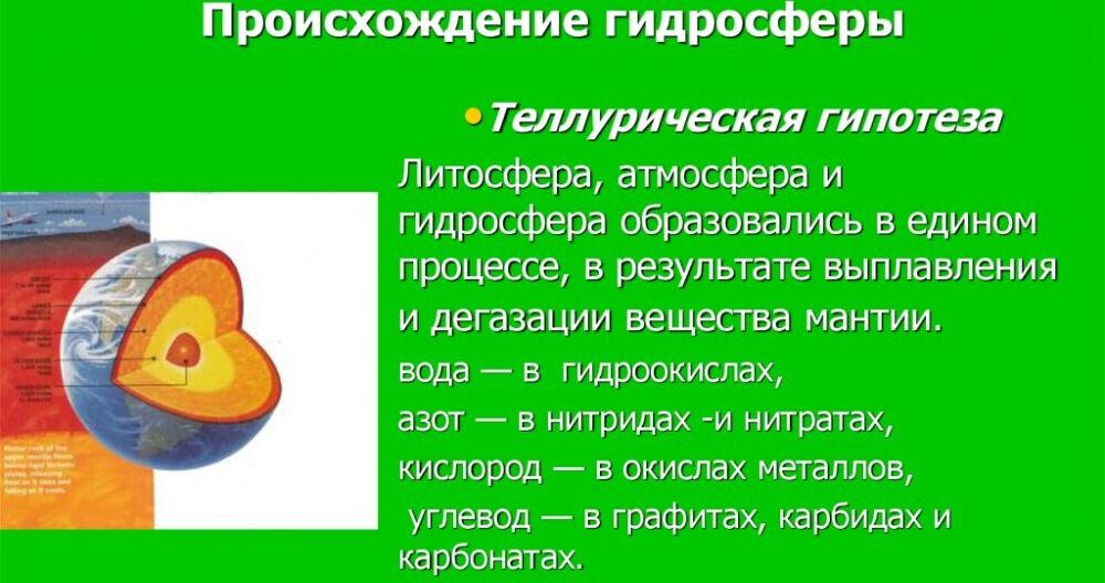Учение о гидросфере - online presentation