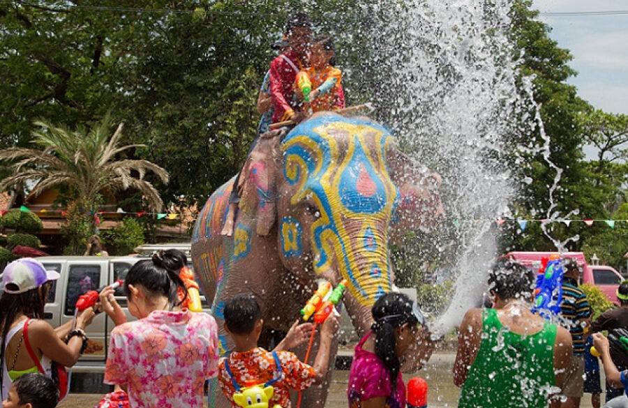 В Таиланде празднуют Новый год - Новости Казахстана и мира на сегодня