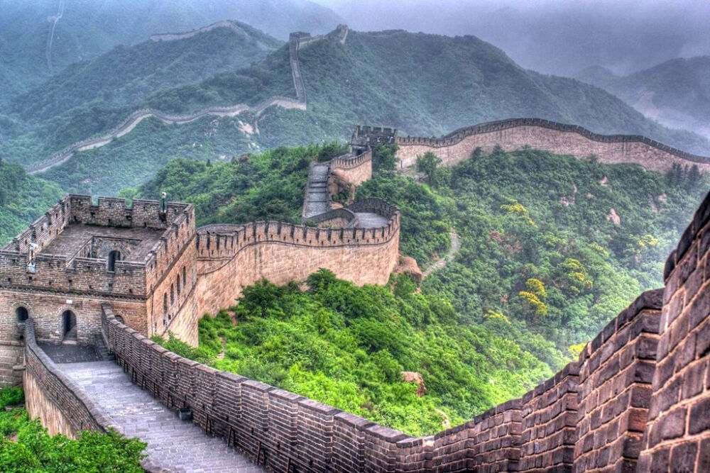 Великая китайская стена   Серия 'Самые интересные объекты ЮНЕСКО в ...