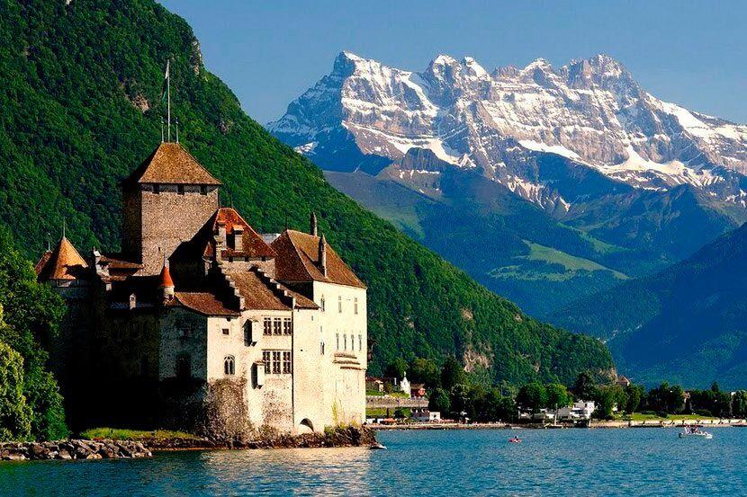 Женевское озеро: описание, курорты, фото