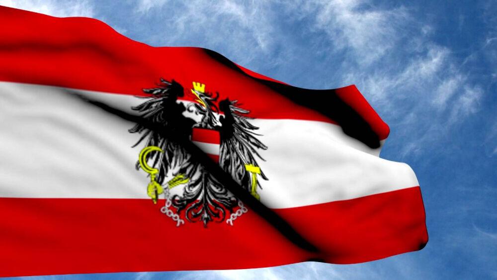 Флаг Австрии / Austria Flag - YouTube