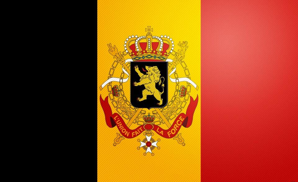 Флаг и герб Бельгии - Отдых за границей