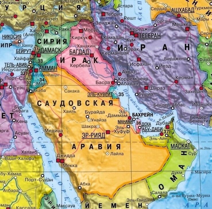 западный субрегион