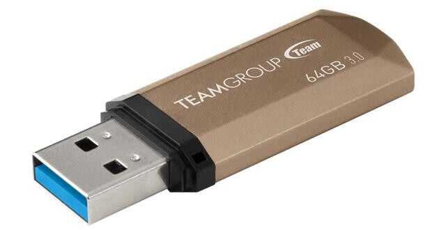 USB 3.0 флешка Team C155 64Gb Golden ( TC155364GD01 ): продажа, цена ...
