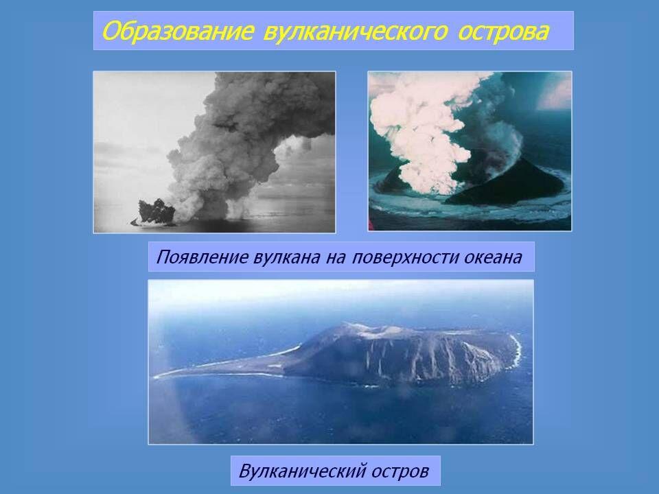 Образование вулканического острова - Презентация 4570-18