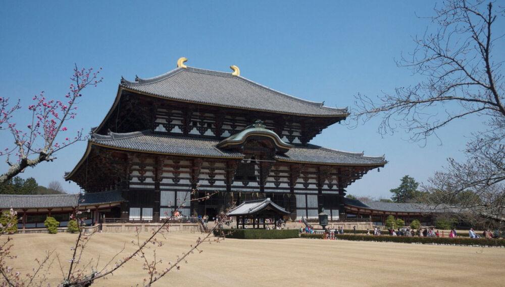 Храм Тодай-дзи – величественное деревянное сооружение в Японии