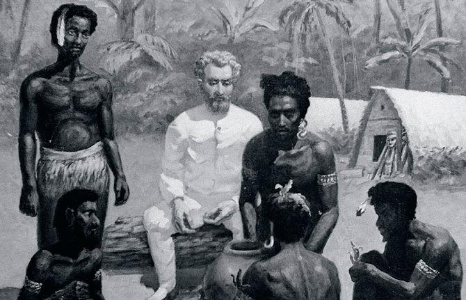 Миклухо-Маклай среди аборигенов