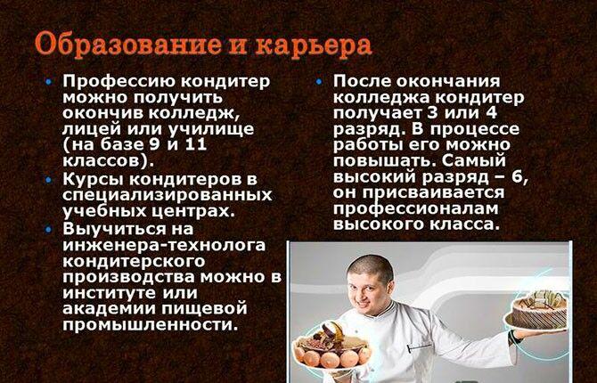 Образование повар