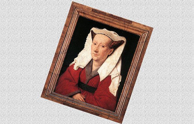 Портрет жены Маргрет ван Эйк