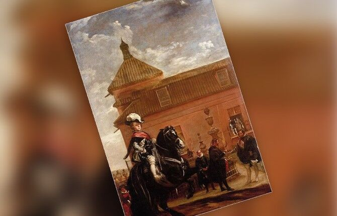 Урок верховой езды принца Бальтазара Карлоса