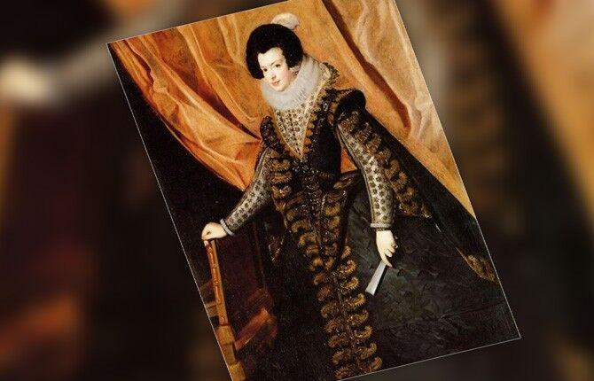 Портрет королевы Изабеллы Бурбонской
