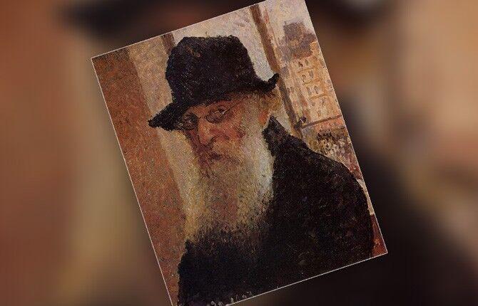 Писсарро Автопортрет. 1903 г.