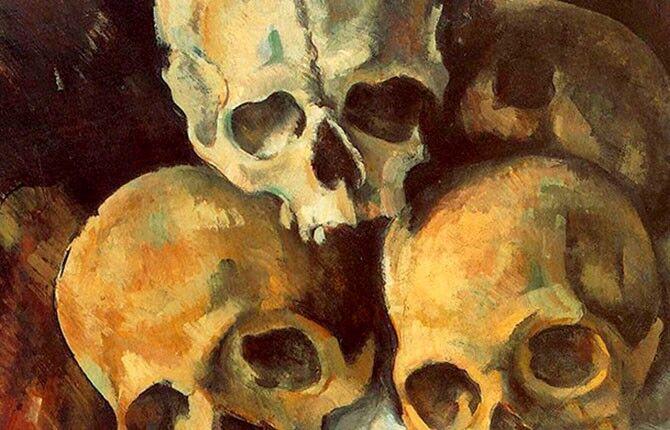Натюрморт с черепами (1901 г.)