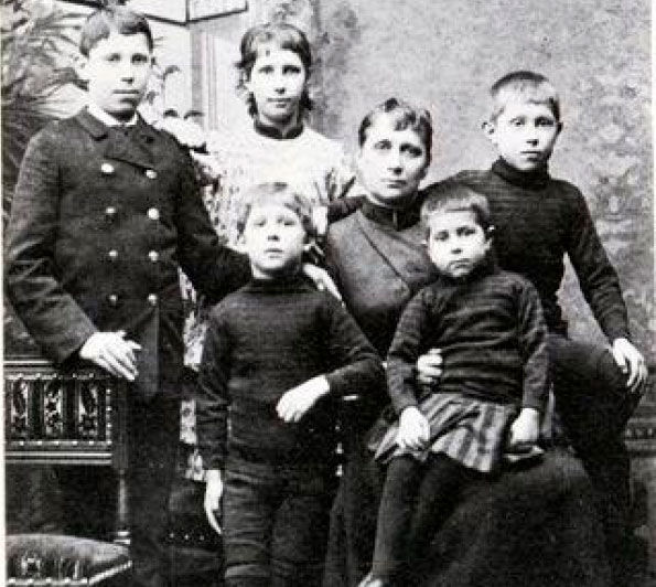 Семья Поль Гогена