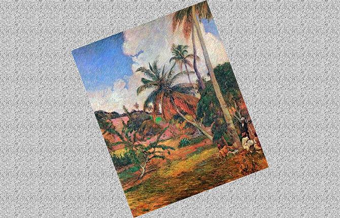 Пальмы на Мартинике