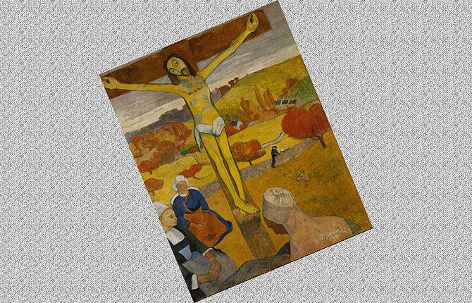 Гоген Желтый Христос