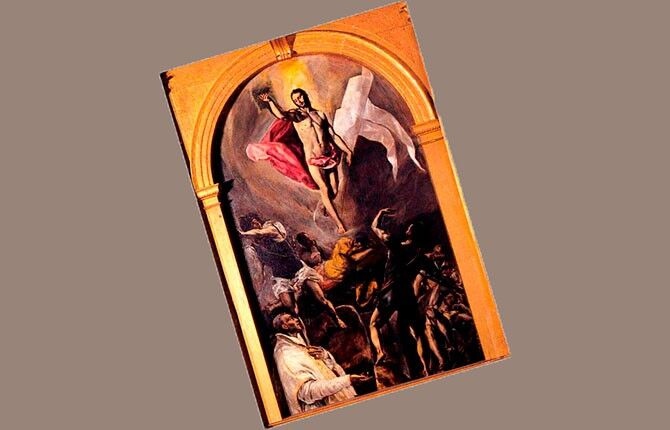 Картина Воскресение Христа