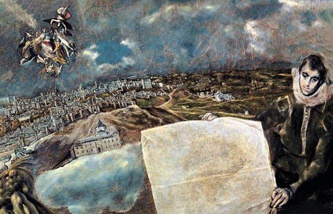 Эль Греко Вид и план Толедо