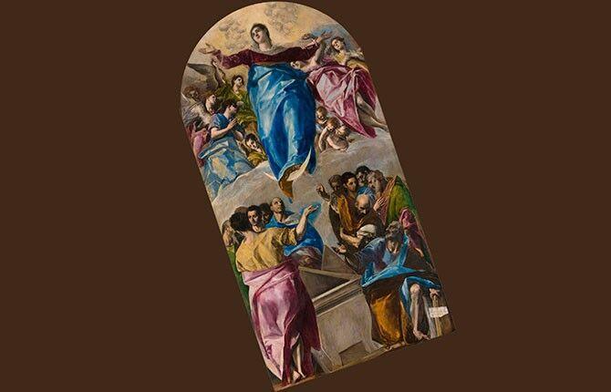 Эль Греко Вознесение Марии
