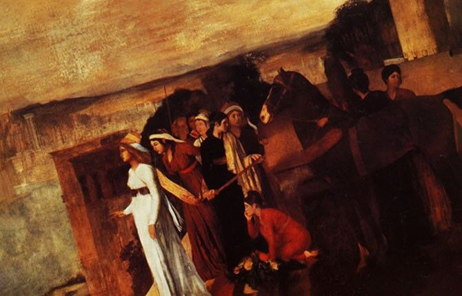 «Семирамида строит Вавилон» 1861 г.