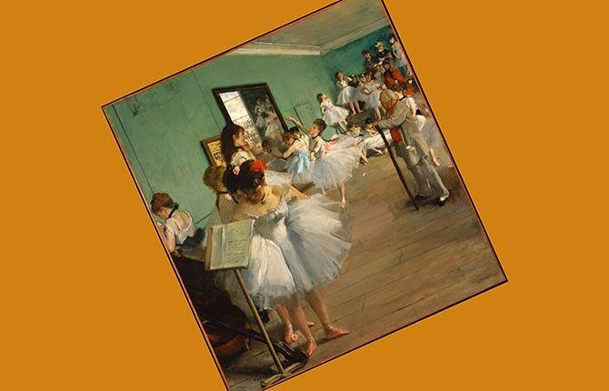 Танцевальный класс 1874 г.
