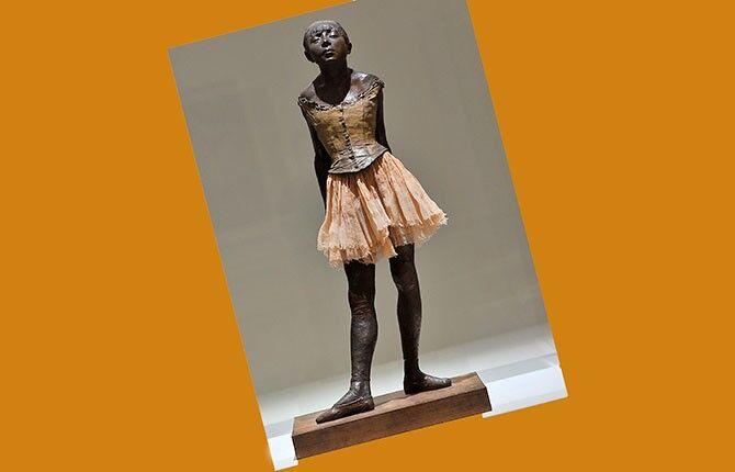 Дега «Маленькая танцовщица»