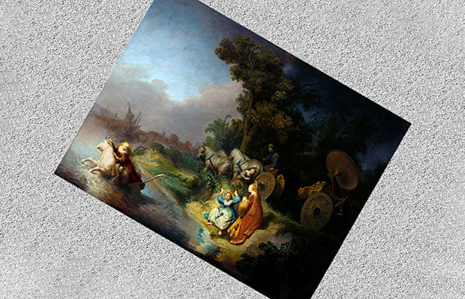 Похищение Европы Рембрандт