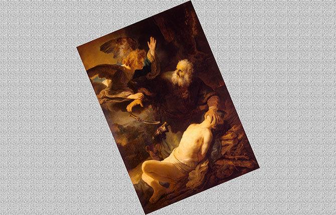 «Жертвоприношение Авраама» 1635 г.