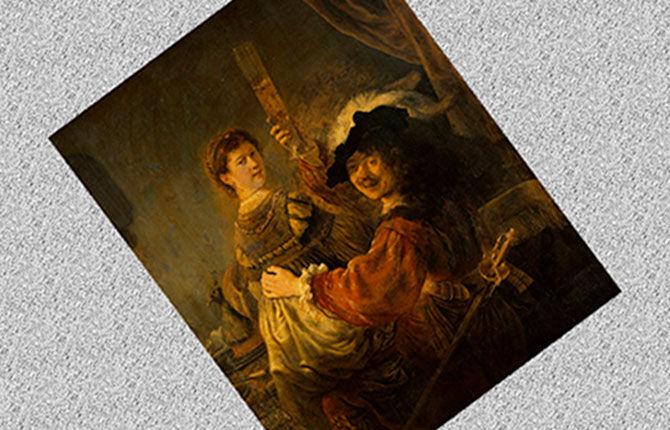 «Блудный сын в таверне» 1635 г.