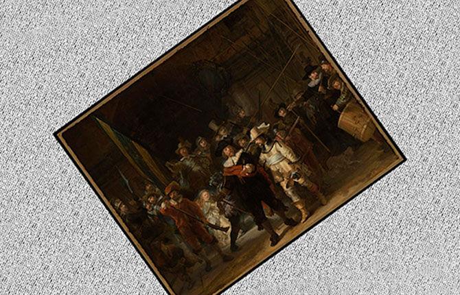 Рембрандт «Ночной дозор» 1642 г.