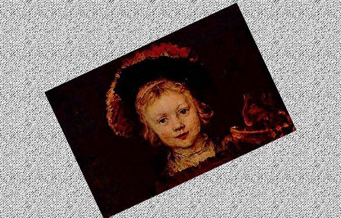 «Портрет сына Титуса», около 1650 г.