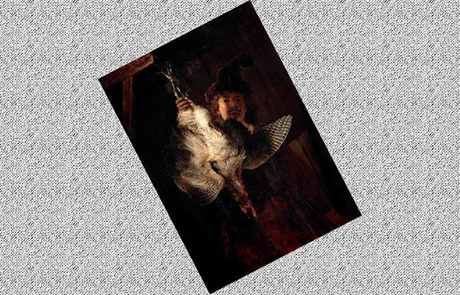 «Охотник на выпей» 1639 г.