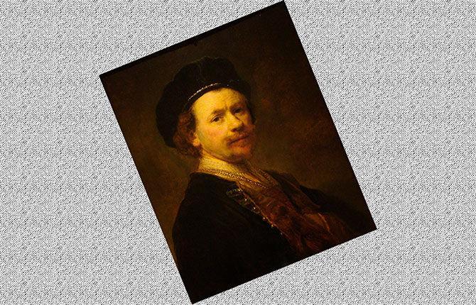 Рембрандт Автопортрет 1636–1638 гг.