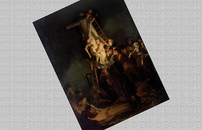 «Снятие с креста» (1634 г.)