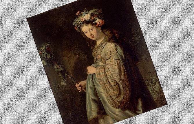 «Флора» (1634 г., Эрмитаж)