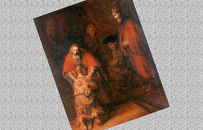 Рембрандт «Возвращение блудного сына» (около 1668-1669 гг.)