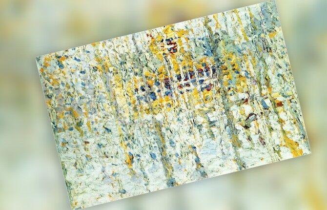 Малевич «Пейзаж с желтым домом»