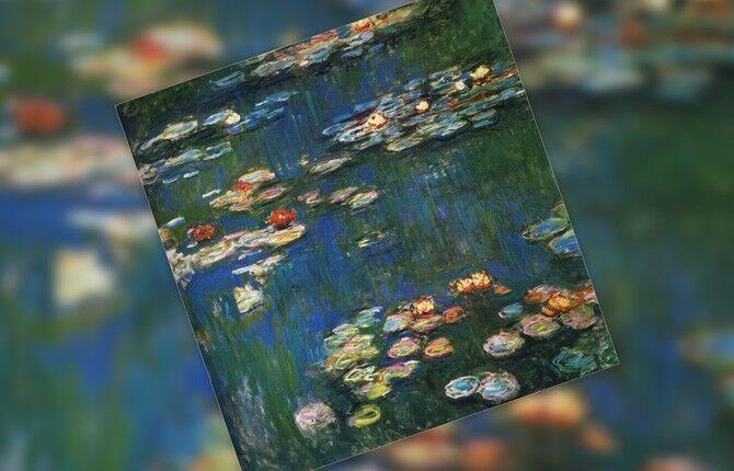 Клод Моне Нимфеи (водяные лилии)