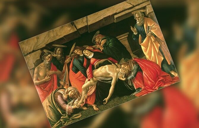 Картина Оплакивание Христа