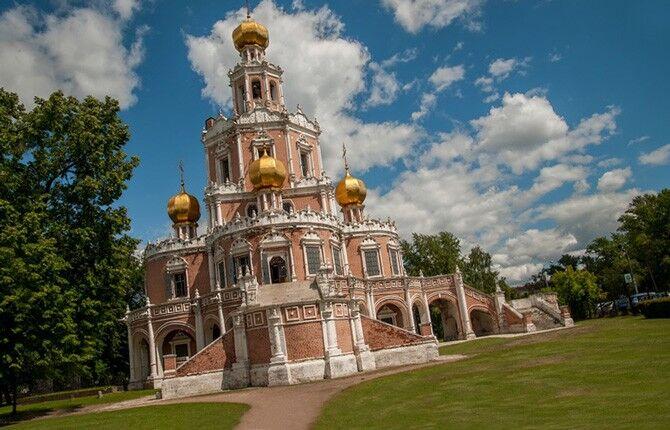 Нарышкинское барокко в архитектуре